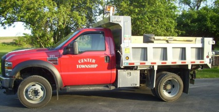 Center Township, Snyder County.  Township Truck.